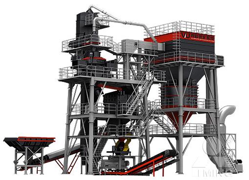 塔楼式制砂机,VU骨料优化系统,集约式砂石料制备